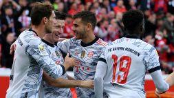 Bayern scatenato: il primo tempo col Leverkusen si chiude sullo 0-5