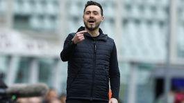 """De Zerbi ammette: """"Non siamo pronti per la Champions come vorrei"""""""