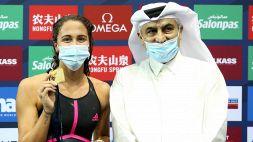 Nuoto, Simona Quadarella oro in Coppa del Mondo