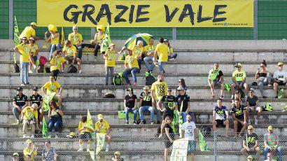 MotoGP, Misano: Valentino Rossi si appresta a salutare i tifosi