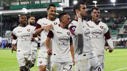 Serie A: la Salernitana trova la seconda vittoria in stagione, pari Spezia-Genoa