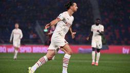 Il Milan è in vetta alla Serie A: il Bologna crolla nel finale