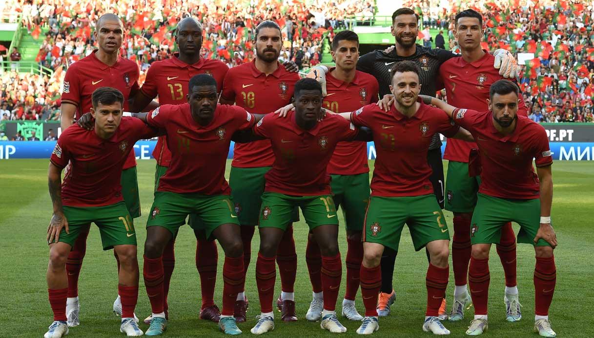 Rosa Portogallo 2021/2022: età e nazionalità di tutti i calciatori