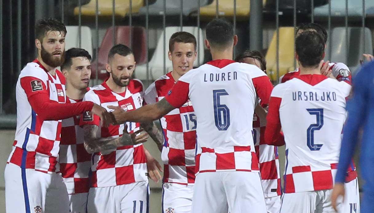Rosa Croazia 2021/2022: età e nazionalità di tutti i calciatori