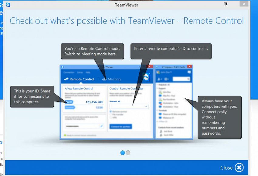 Teamviewer: come usare il software di tele-assistenza