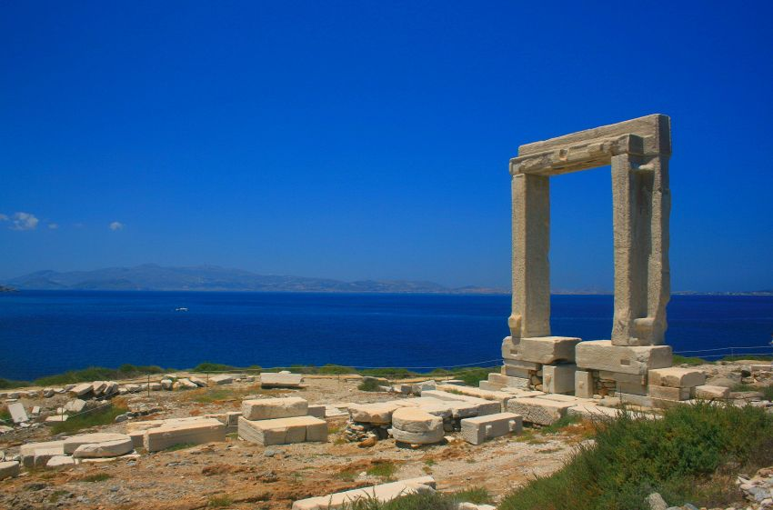 Isola di Naxos, in Grecia: un mix di spiagge, mare e movida