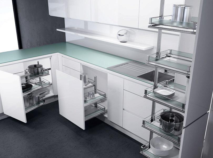 Cucine Moderne In Poco Spazio.Cucine Ad Angolo Come Recuperare Lo Spazio Quando E Poco