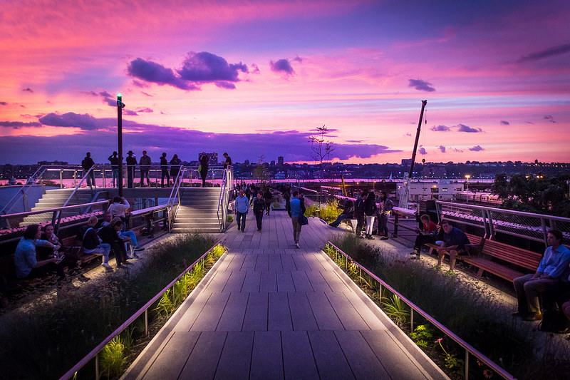 High Line Park: il un parco sospeso su New York