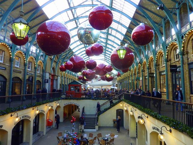 Covent Garden: effervescente quartiere, famoso per il suo mercato
