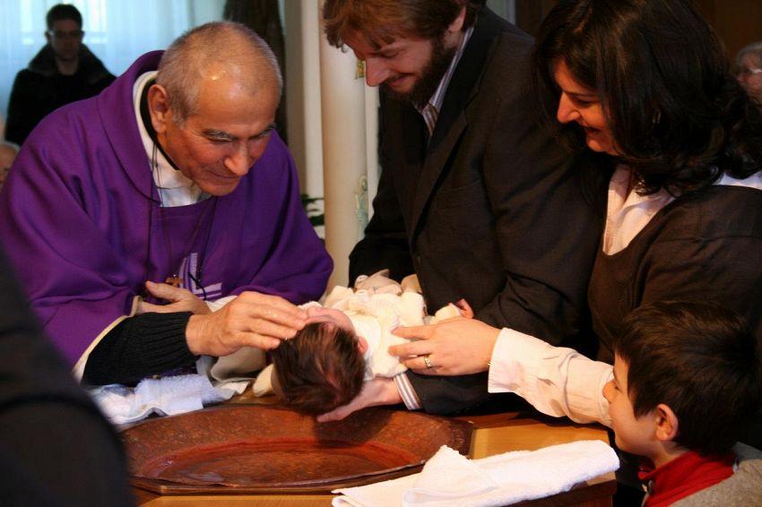 Frasi per il battesimo di un bimbo: l'importanza del cuore
