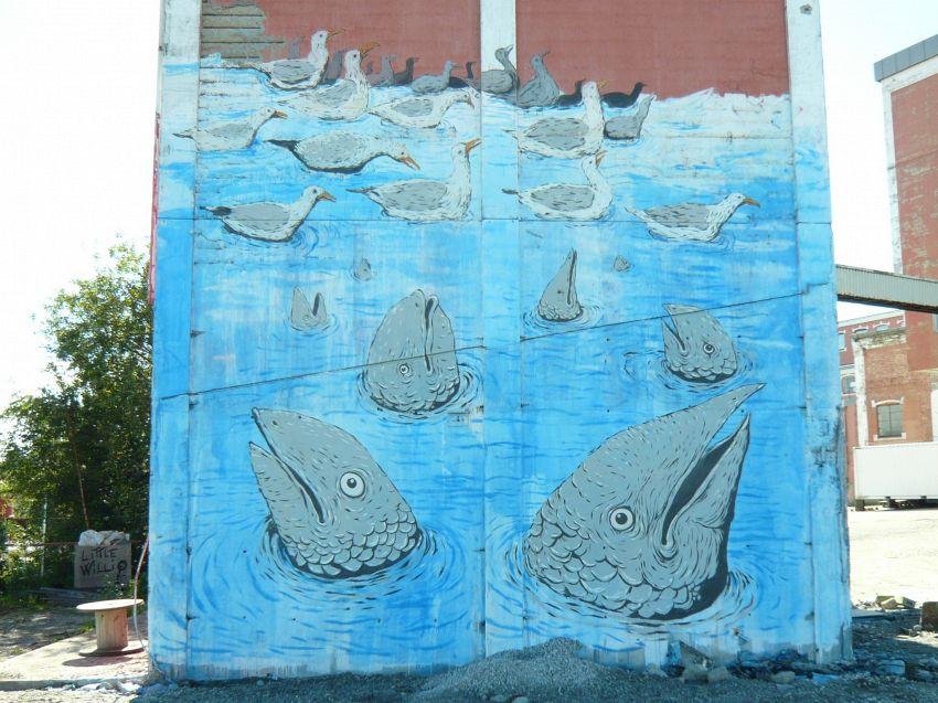 L'artista Blu raccontato in 5 opere di incredibile street art