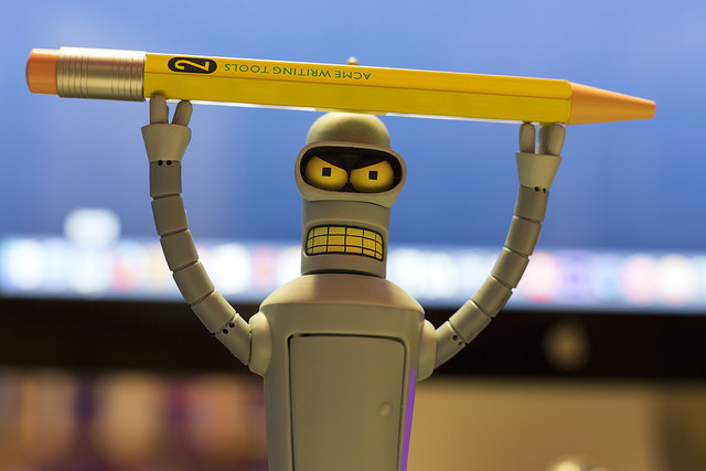 Il robot e il suo romanzo candidato a un premio letterario