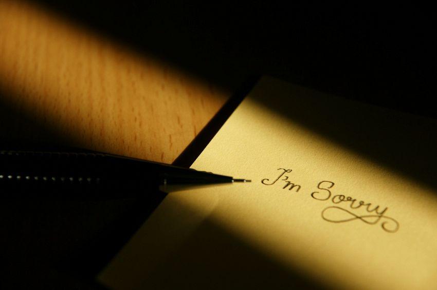 Come chiedere scusa nel modo migliore possibile