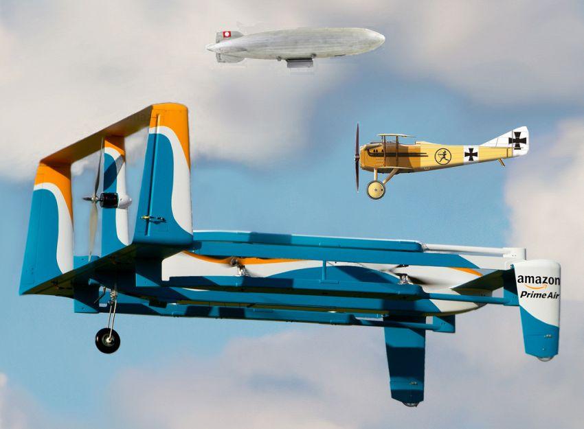 UPS e Amazon, droni per le consegne in dirittura d'arrivo?
