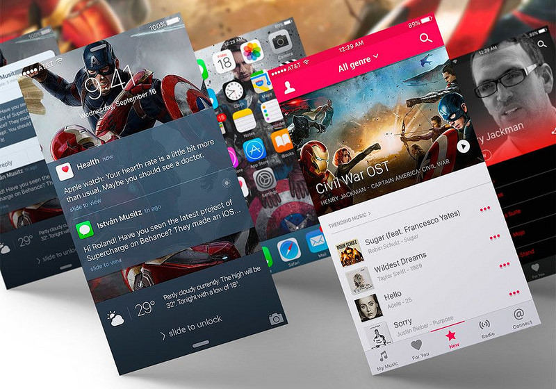 Apple presenta iOS10, il nuovo sistema operativo per iPhone e iPad