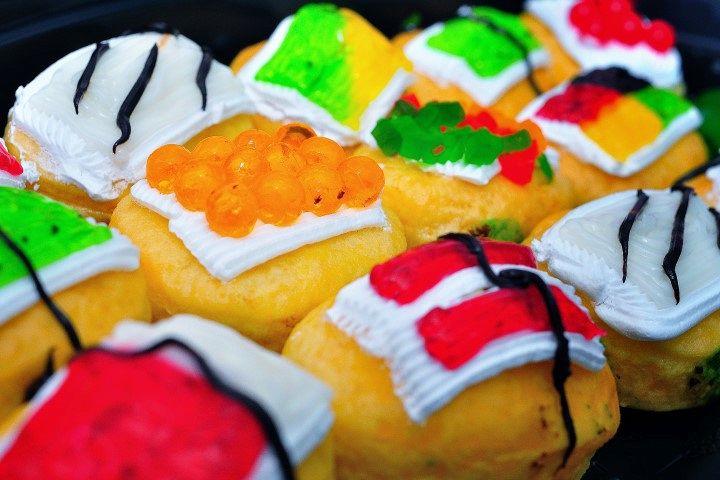 Sushi a forma di donut, la nuova passione del cibo su Instagram