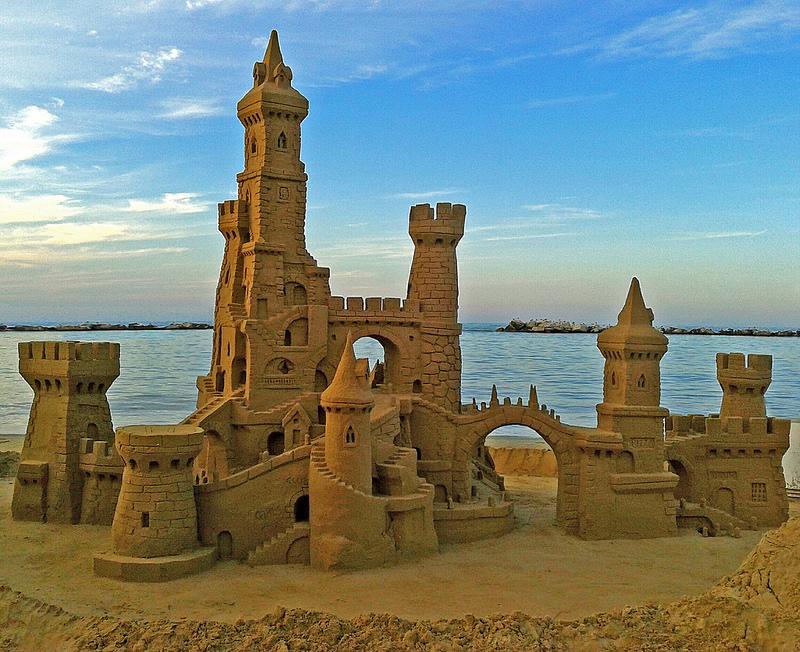 Come costruire un castello di sabbia perfetto
