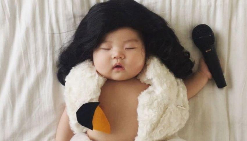 Ha 4 mesi ed è già la regina di Instagram grazie ai suoi cosplay