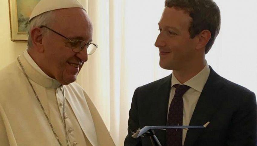Di cosa hanno parlato il Papa e Mark Zuckerberg, durante il loro incontro