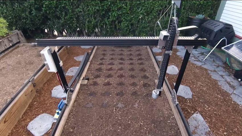 Anche tu puoi avere un orto perfetto, grazie al robot Farmbot