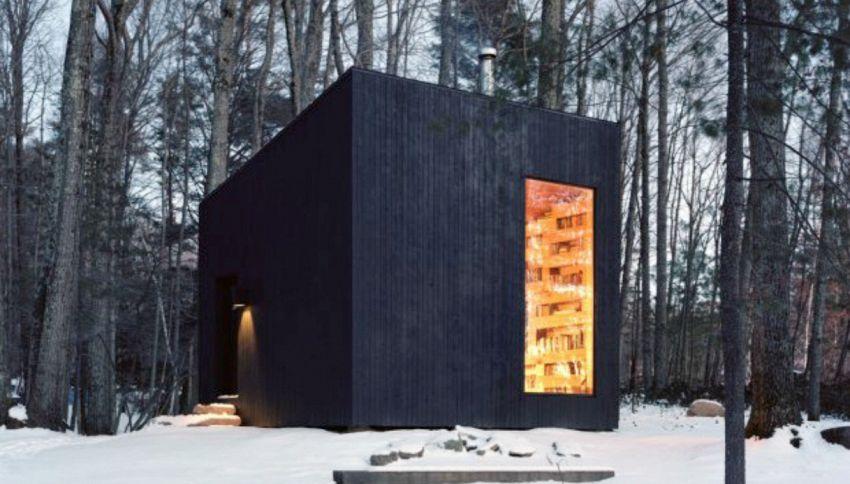 Il paradiso dei lettori: una biblioteca in mezzo al bosco isolata dal mondo