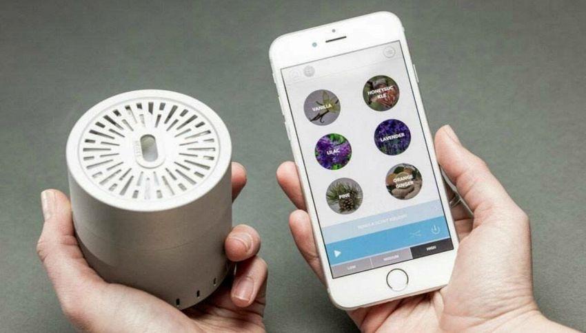 Hanno inventato un dispositivo che permette di inviare messaggi profumati
