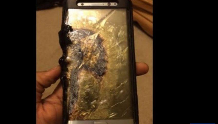 Samsung ha sospeso le vendite del Galaxy Note 7 a causa di malfunzionamenti ed esplosioni della batteria