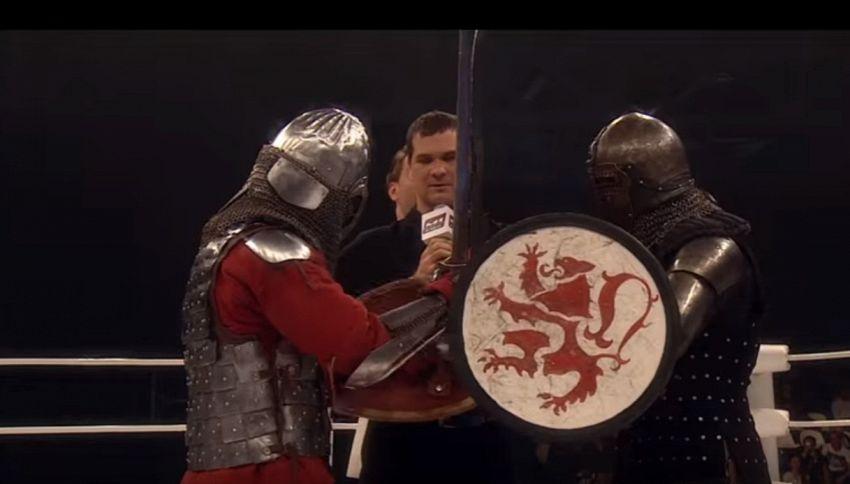 In Russia fanno MMA vestiti da medievali