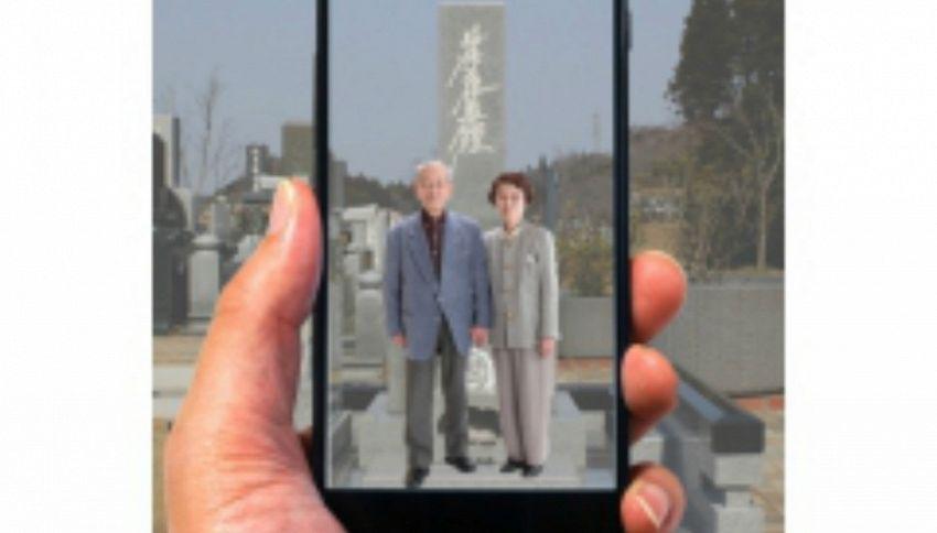 Un'app simile a Pokémon GO permette di vedere i defunti. Cattura la nonna