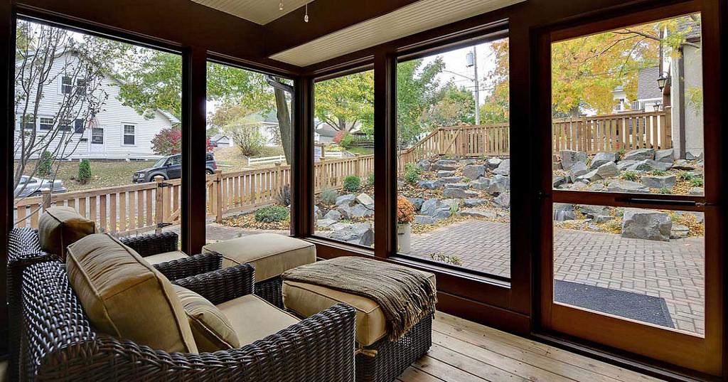 Veranda realizzata in legno - Veranda ad uso cucina - Supereva