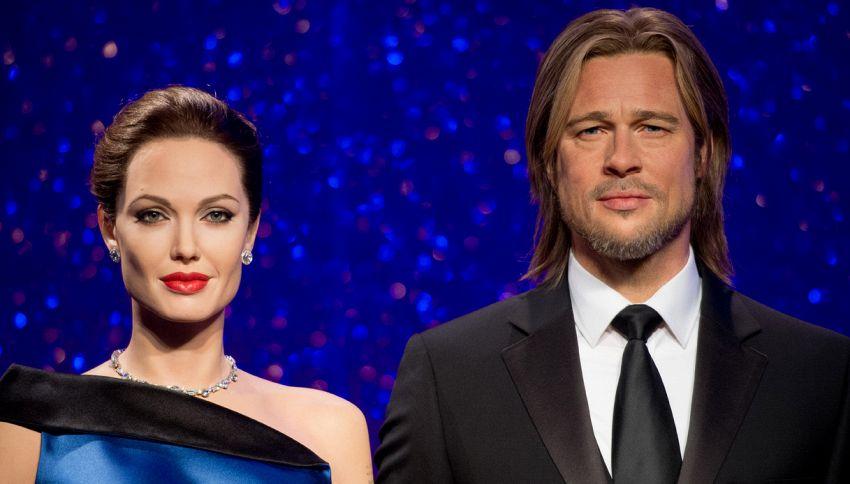Jolie-Pitt: divorzio anche da Madame Tussauds