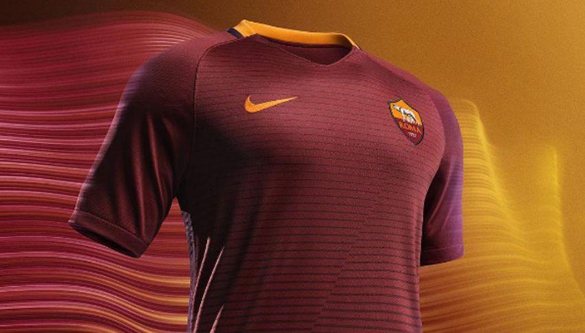 Roma, ecco come sarà la nuova maglia per il derby