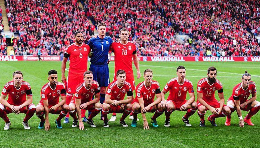 Che cosa succede alle foto di squadra del Galles?
