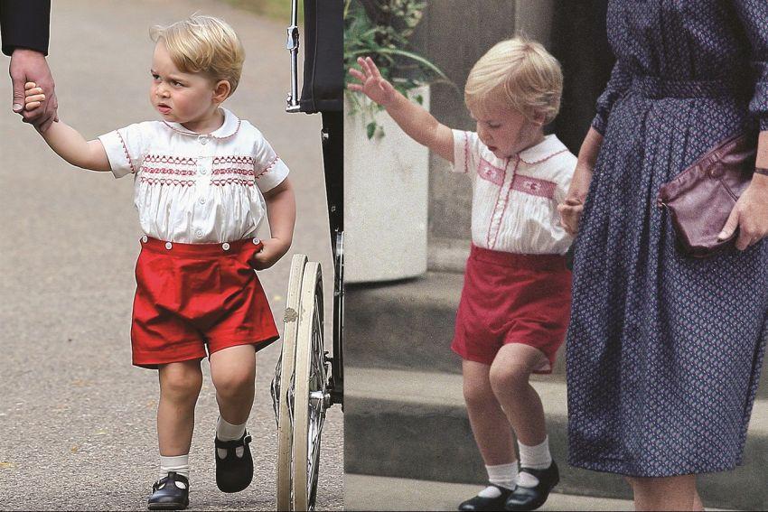 Perché il principino George veste sempre pantaloni corti?