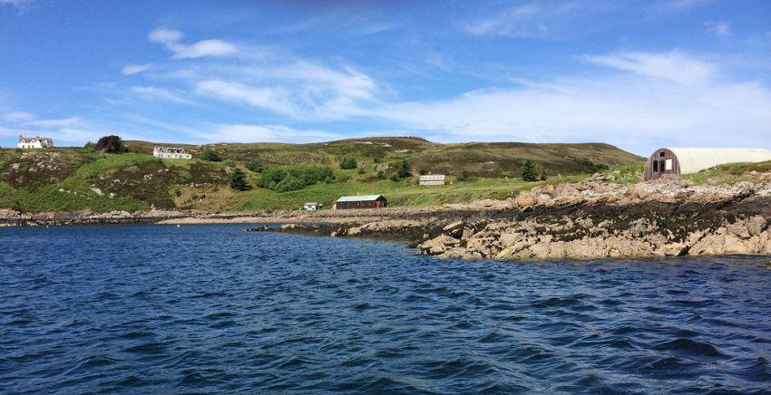 Isola vendesi, con bar, scuola e fattoria, costa meno di un appartamento
