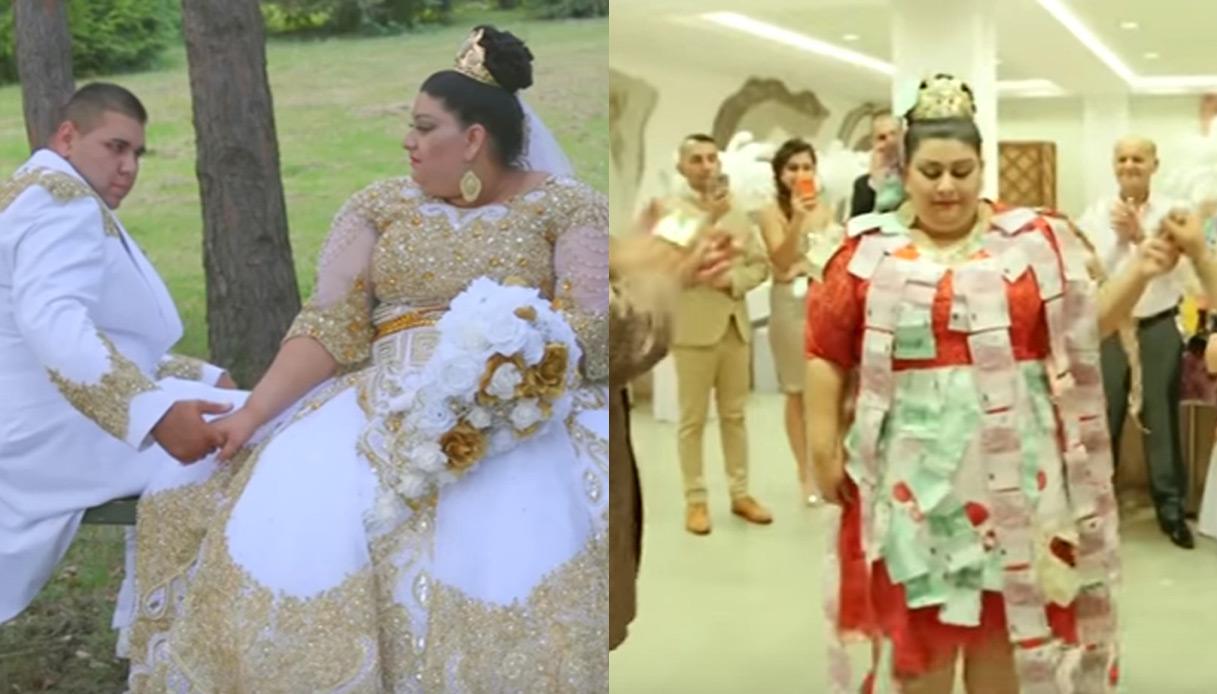 Matrimonio Gipsy Soldi : Le nozze più tamarre del secolo oro e soldi ovunque anche sulla