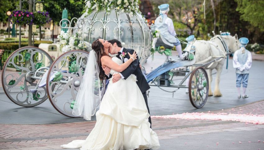 Sposarsi come una  principessa Disney. Qui è possibile: ecco come fare
