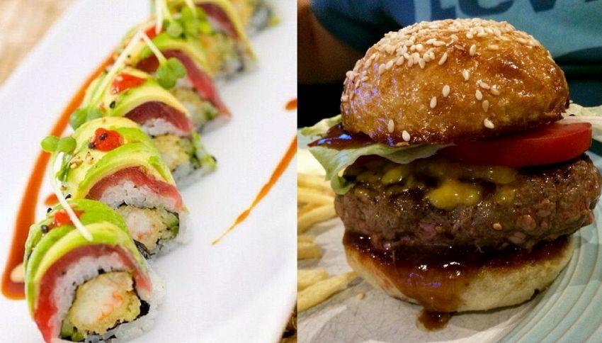 Il sushi fa ingrassare più dell'hamburger. Lo dice la scienza