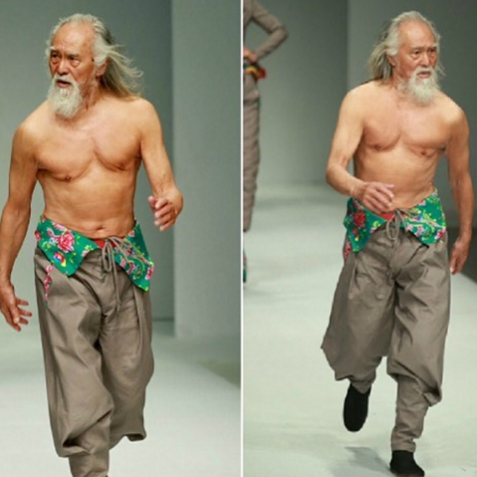 Modello di nudo cinese