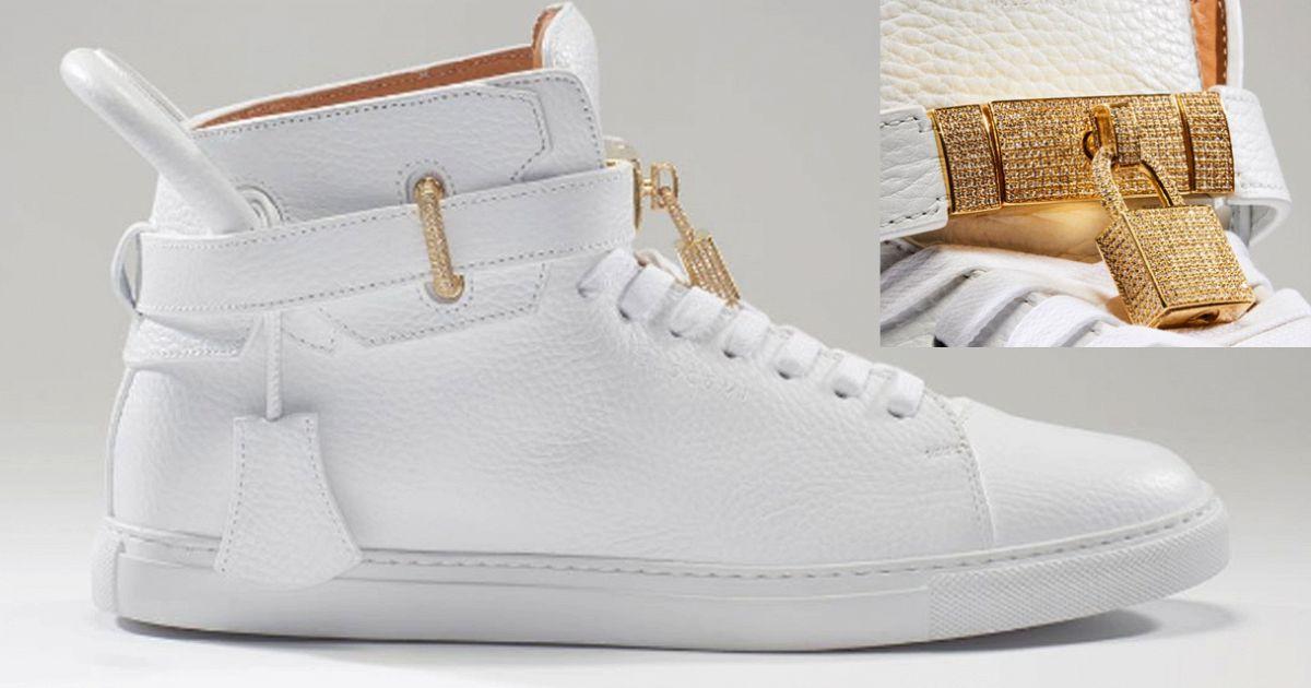 32e737142 Le scarpe più care del mondo: sneaker in pelle e diamanti da 118 mila euro  | superEva