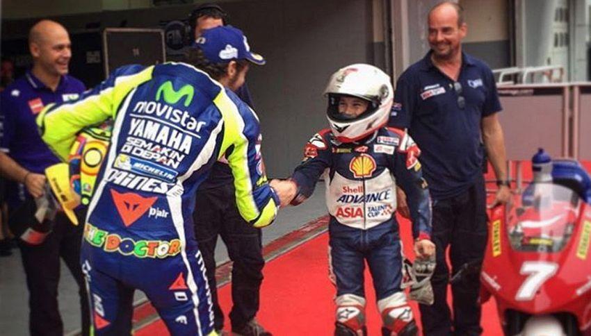 Valentino Rossi: un gesto che ha emozionato tutti