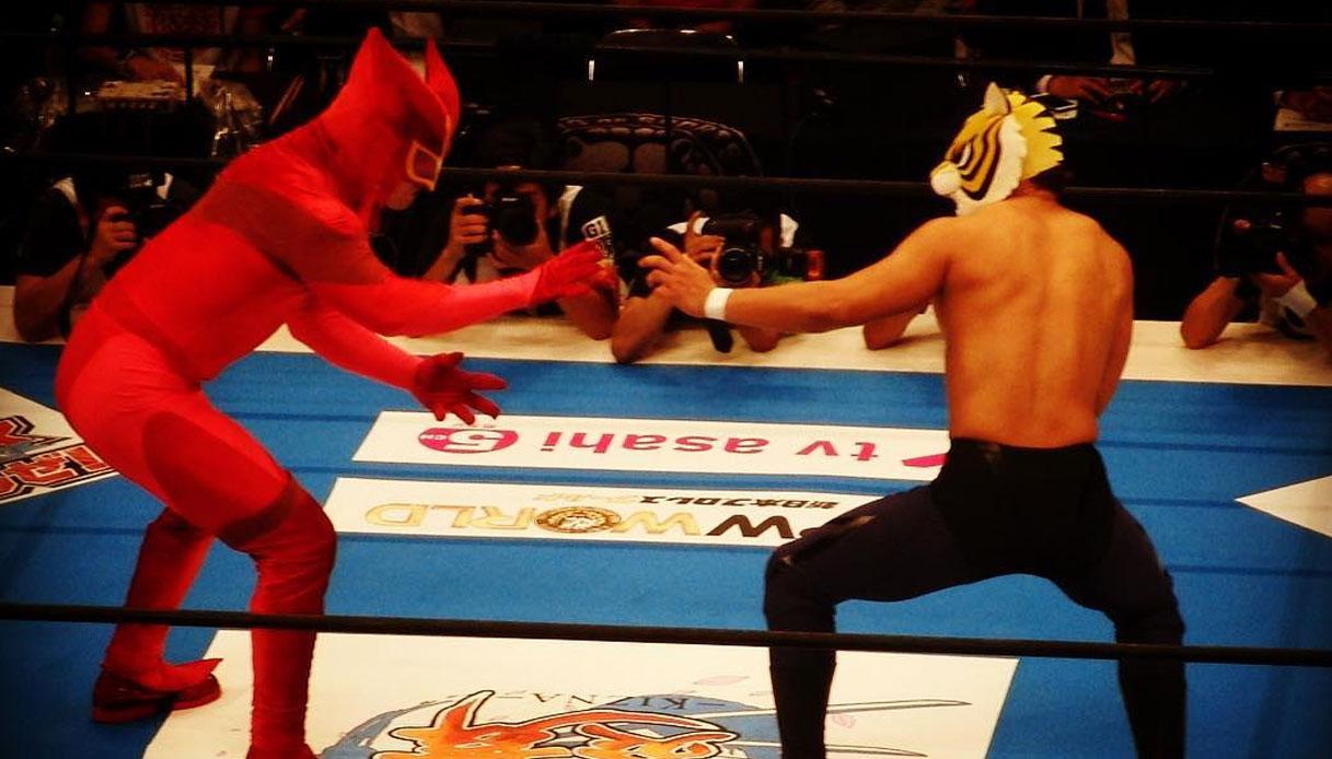 L uomo tigre tiger mask di haoki tsuji e ikki kajiwara una