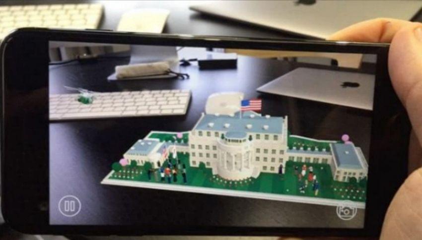 La Casa Bianca pubblica la sua prima e divertente app interattiva