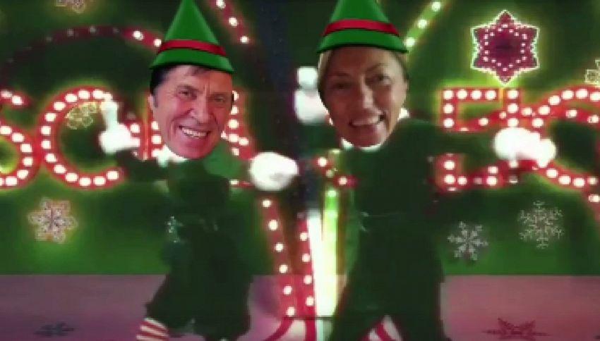 Morandi folletto su Instagram per augurare Buon Natale