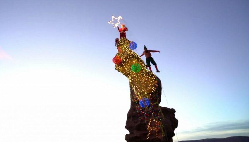 Questo è l'albero di Natale più estremo di sempre