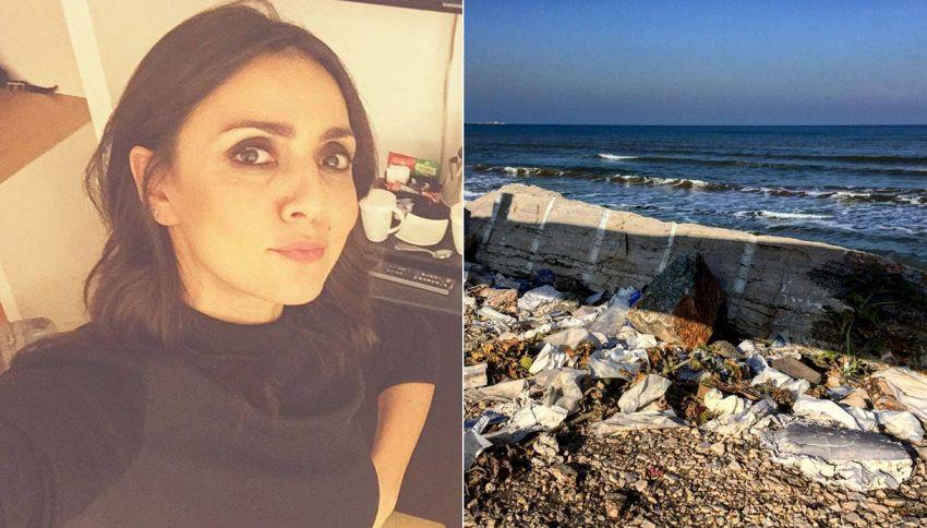 Ambra denuncia il degrado sul lungomare di Barletta: minacce sui social