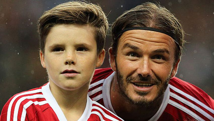Beckham jr scala le classifiche con il suo primo singolo
