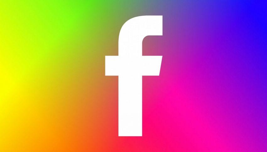 Su Facebook arrivano i post a colori