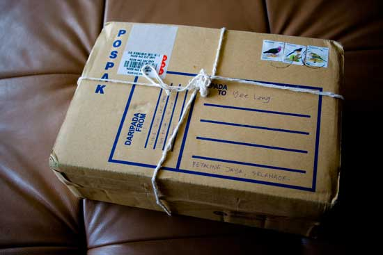 Come spedire un pacco