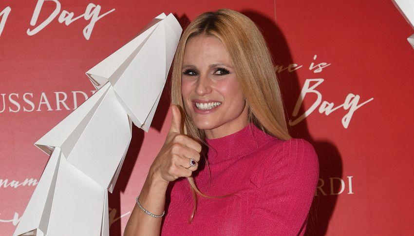 Michelle Hunziker condurrà Sanremo 2018 con Claudio Baglioni